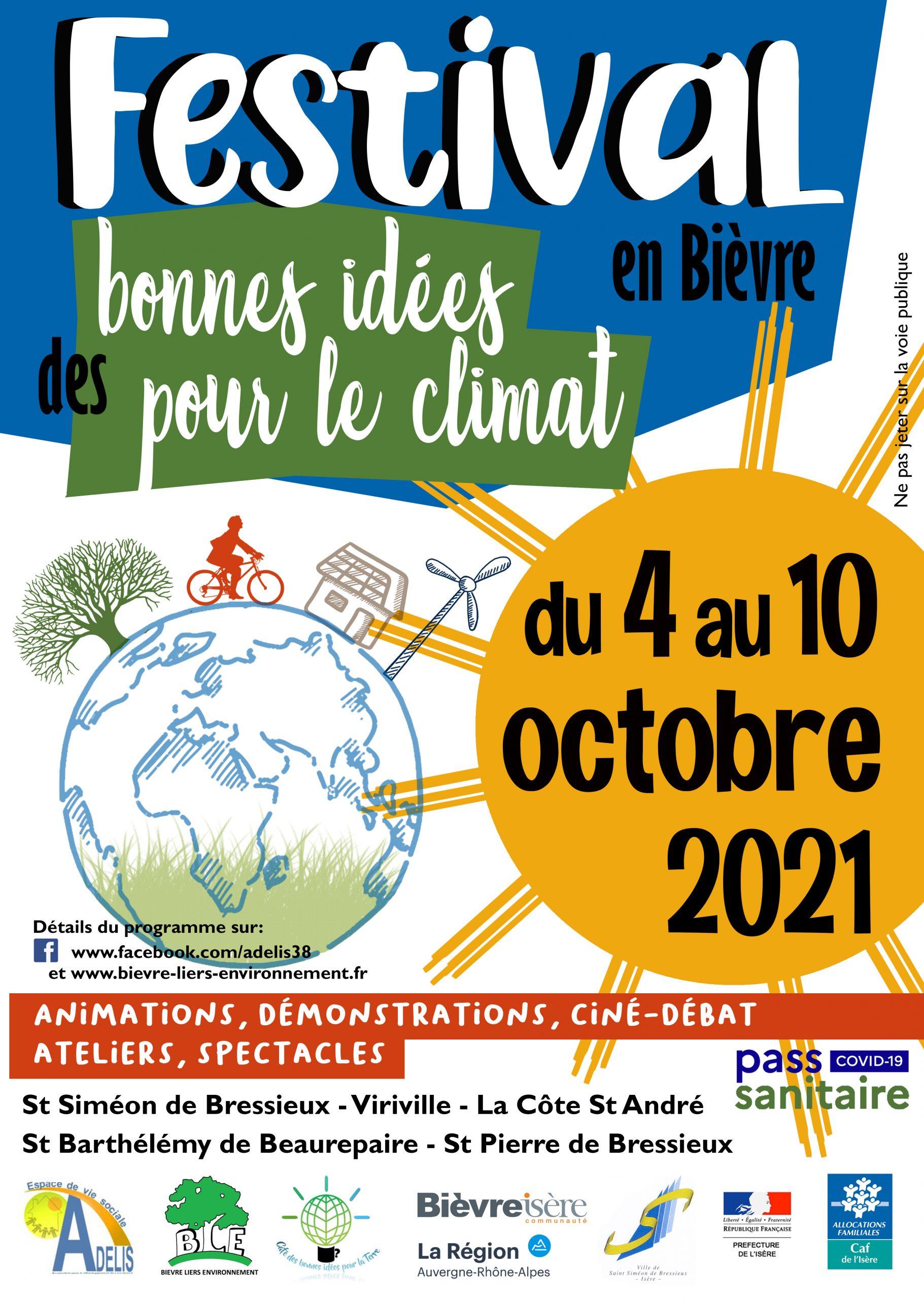 Café des Bonnes Idées pour la Terre, Côt'en fêtes, ADELIS, Bièvre Liers Environnement